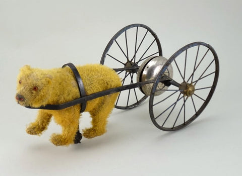 (1900) Bear with cart