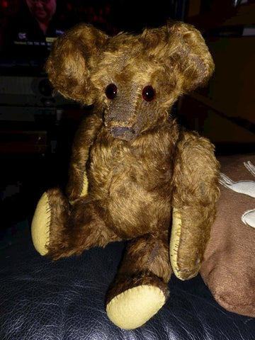 z(1919-1925) National French and Novelty Co. Brown Bear. Evelyn Chambers