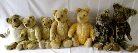 x(1930) Teddy Toys. Winnie-the-Pooh with group
