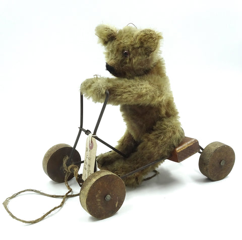 (1913) Omega Coaster Toy. Bear