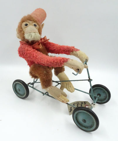 (1920) Fadap Coaster Toy. Monkey sold £140