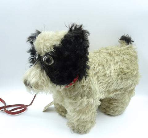 (1920) ISA label Springy Dog Sold £160