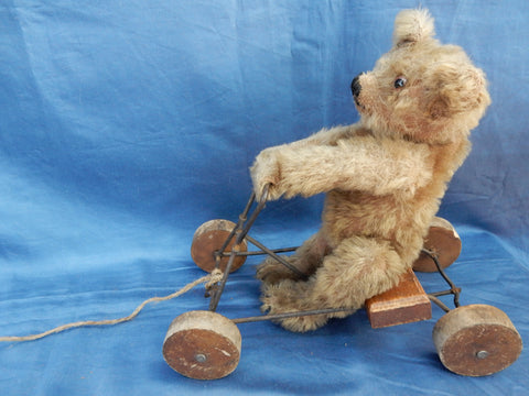 (1914) Omega Coaster Toy. Bear