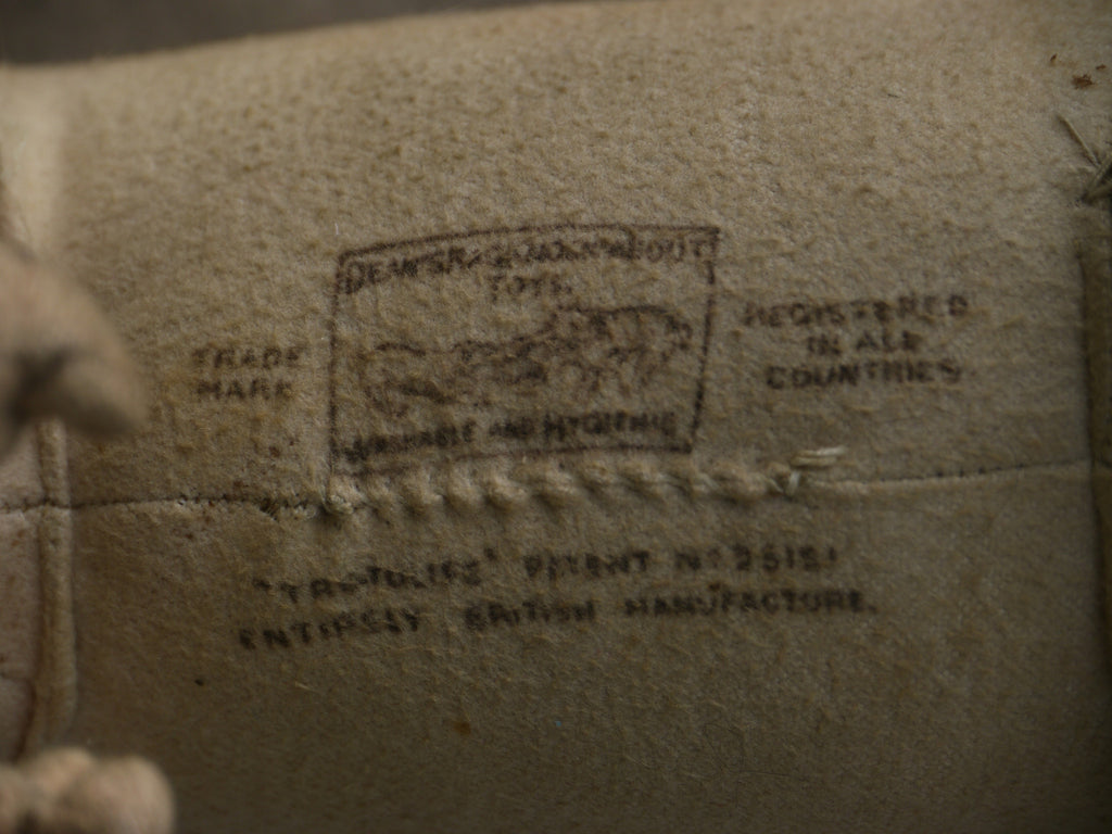 (1917) Stamped label. Tru to Life Patent