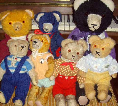 A group of bears from Moscow. Olga B.