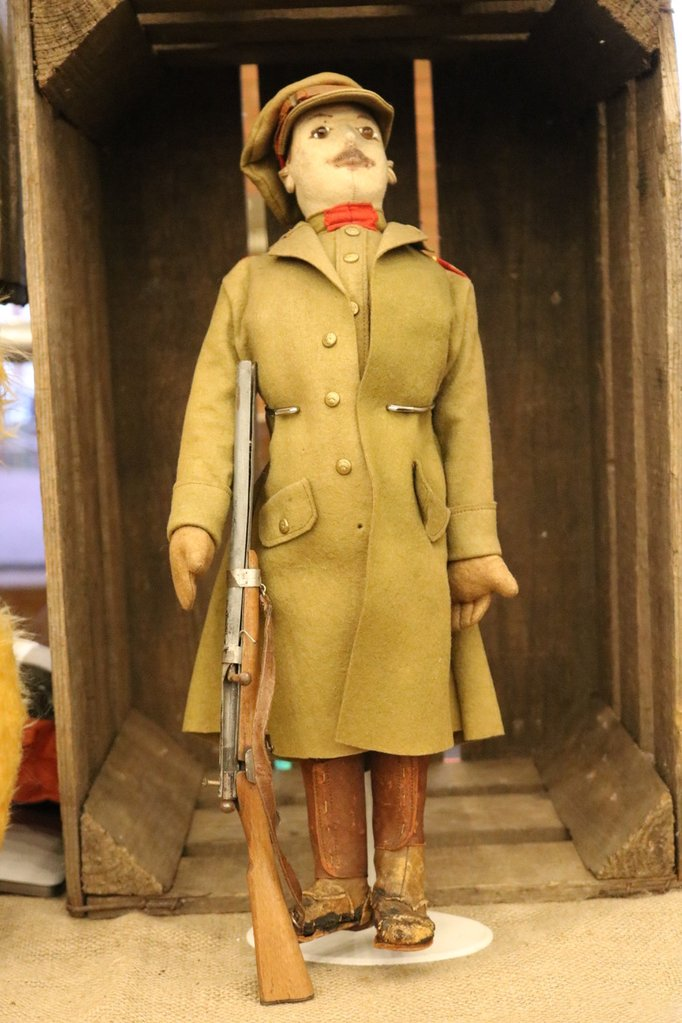 (1916) Soldier Doll. Harwin