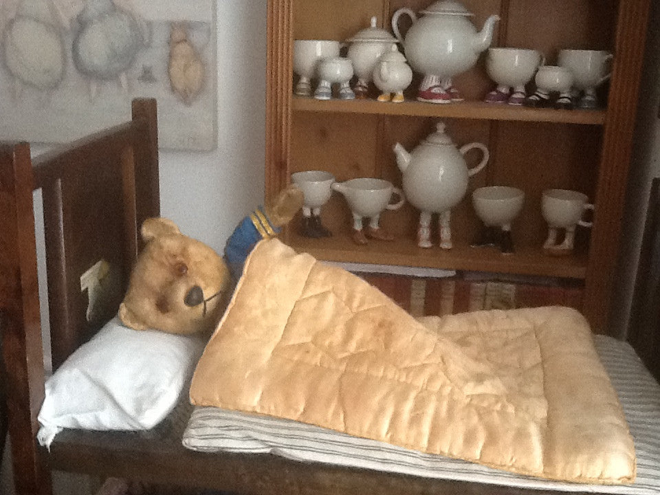 Scruffy. A day in bed! Iris Ware