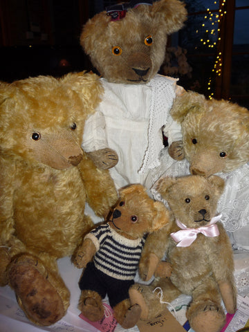 (2) Groups including Terry's bears