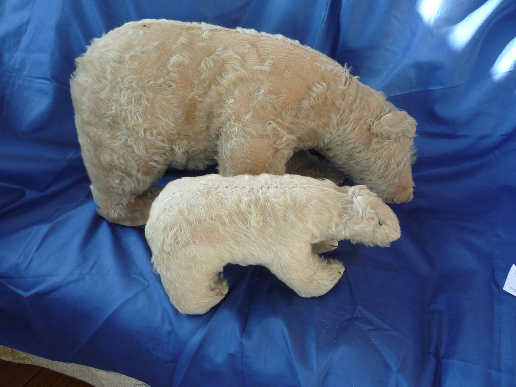 Sold (1922) Baby bear on all four paws with mum.
