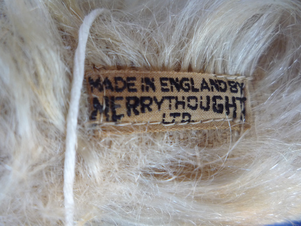 (1931) Earliest Merrythought label on a Bingie