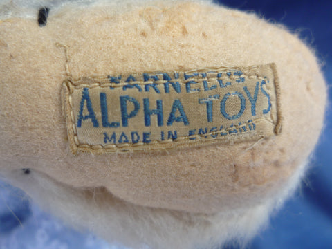 (1925) Farnell's Alpha Toys Label