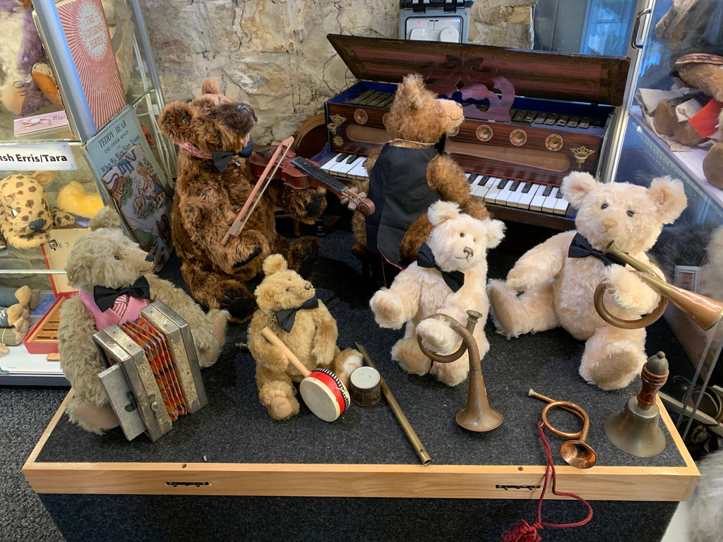 The Teddybear-museum's newer bears