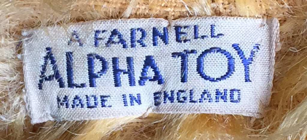 (1925) A Farnell Alpha Toys Label