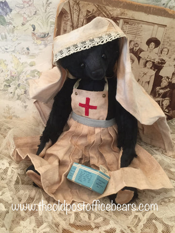 Dawn Jellis Jones. Post Office Bears. Nurse Dawn. 2017
