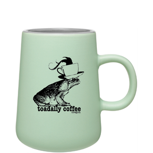 15oz Matte Mint Inverti Ceramic Mug with Logo