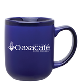 16oz Matte Cobalt Blue Modelo Ceramic Mug with Logo