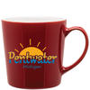 16oz Cajun Red Mona Mug with Logo