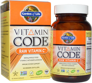Garden of Life - Vitamin C 500mg x60