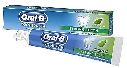 Oral B Toothpaste/Strong Teeth 140g
