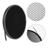 "7"" Bowens Mount Standard Reflector Diffuser Lamp Shade Dish + Honeycomb Grid for photography Studio Flash Strobe light"