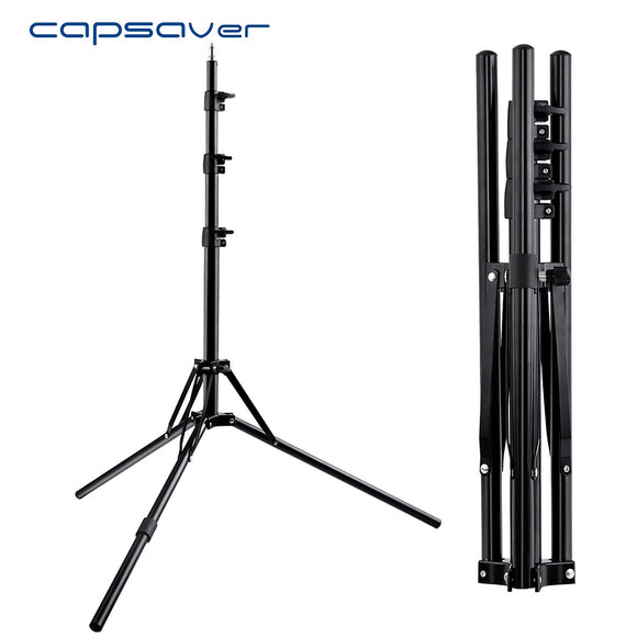 Aluminium Foldable Light Tripod Stand with 1/4 Screw Support
