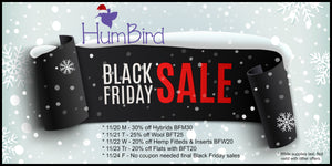 HumBird Black Friday Sales 2017 11/20-11/27