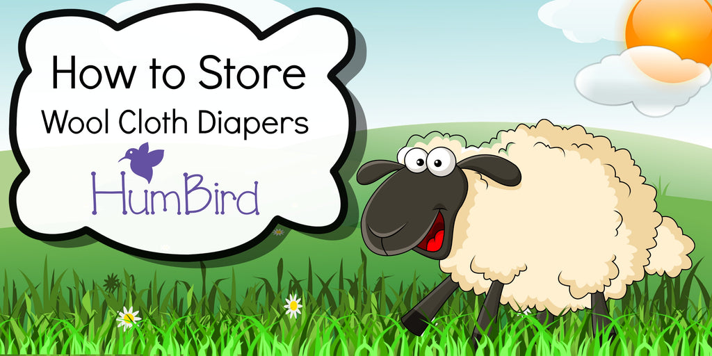 How to Store Wool Cloth Diapers