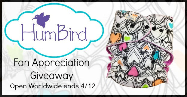 humbird fitted cloth diaper giveaway