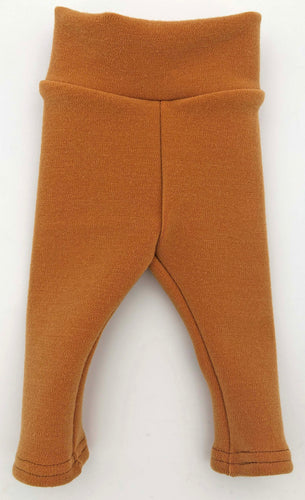 Newborn: Golden Oak Straight Fit Leggings