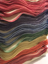 wool liners in many shades of serging