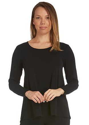 Tani Long Sleeve Split Hem Top </p>(6 colours)