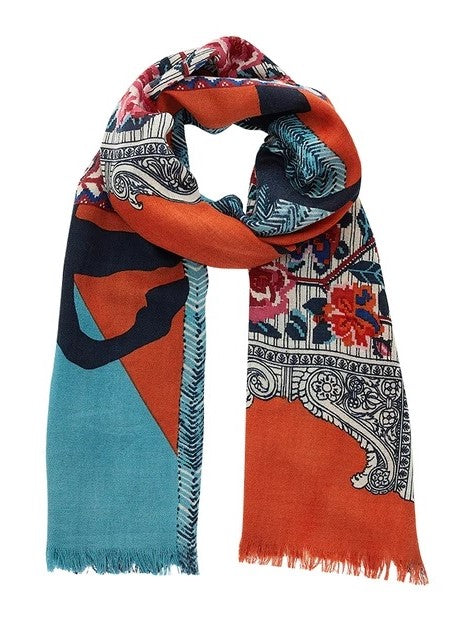 Inouitoosh Nomade Orange Scarf