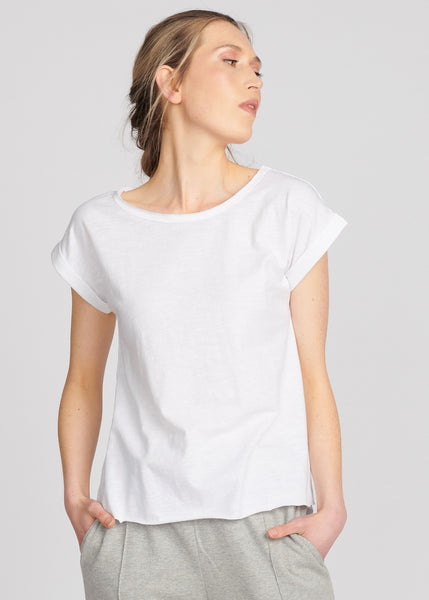 Lulu Organic Essentials Santa Barbara Short Sleeve Tee </p>(3 colours)