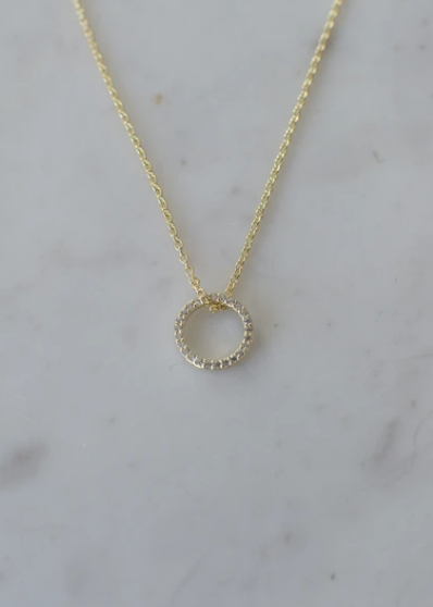 SOPHIE Sparkle O Necklace