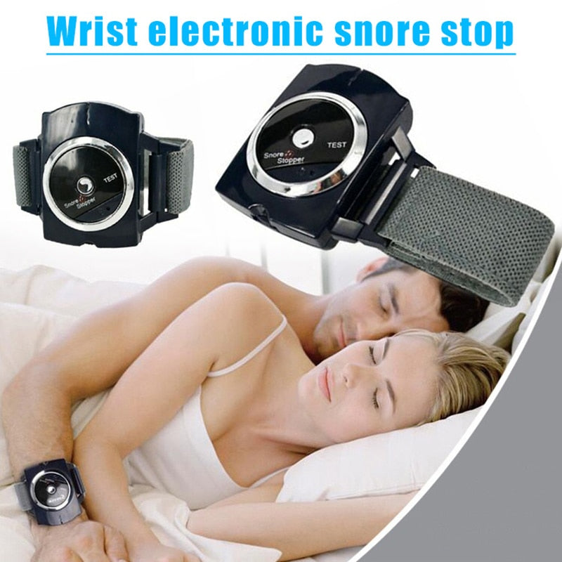Anti-Snoring Wristband Sleep Connection Auto Anti-Snore Bracelet Device Biosenseor Watch Snoring Aid Sleeping Night Guard Aid
