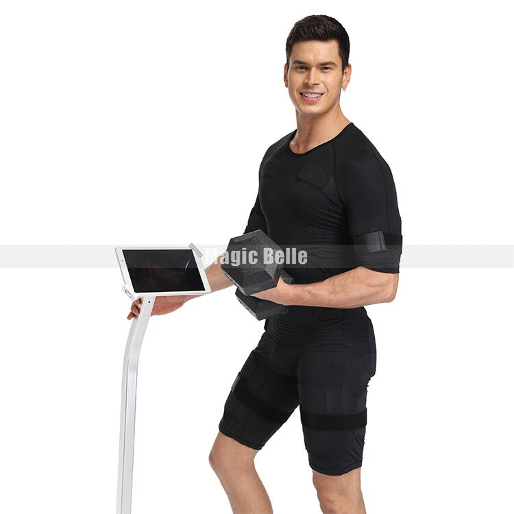 Personal Care Heathly Body Wireless EMS Body Muscle Stimulator Training Fitness Machine Suit