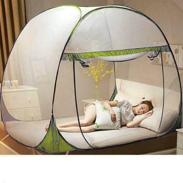 Ultralight Outdoor Anti-mosquito Pops-up Mesh Tent Home Indoor Outdoor Garden Mosquito Net Home Textile Anti Mosquito Tent TB