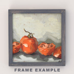 """Pumpkin Splash"" Print, Small Wall Art"
