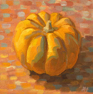 """Pumpkin Splash"", Small Wall Art"