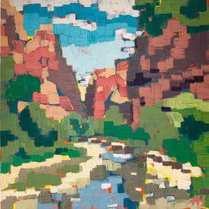 "National Park Painting, Landscape in Oil, ""Zion Canyon Majesty"""