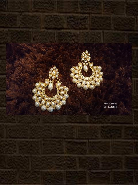 Beautiful pearl chandballies