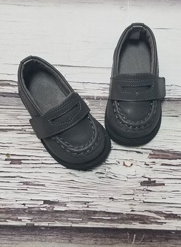 BabyDeer Charcoal Loafer