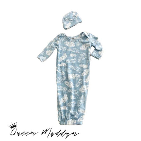 QueenMaddyn Classic Cars gown