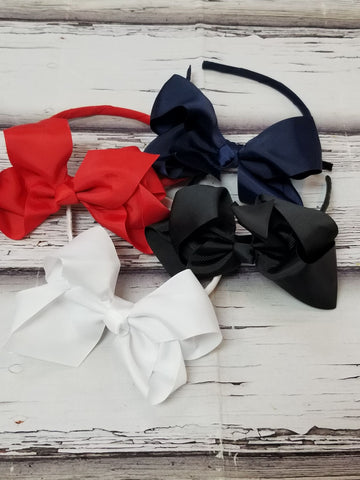 Headband Bows(packs/singles)