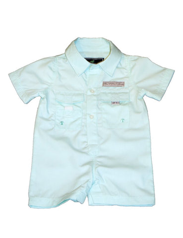 ProperlyTied Seafoam Shortall