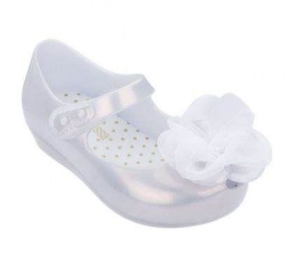 Mini Melissa Ultragirl Chic Pearly White
