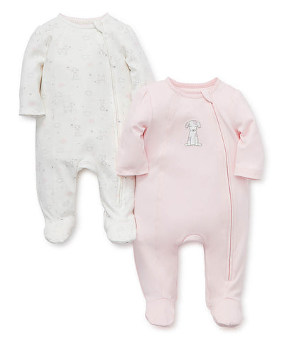 LittleMe PuppyLove footed set