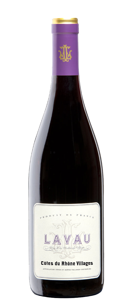 LAVAU AOC COTES DU RHONE VILLAGES ROUGE 2018