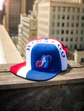Load image into Gallery viewer, Men's HidalgoUSA Vintage Cut & Sew Snapback Hat