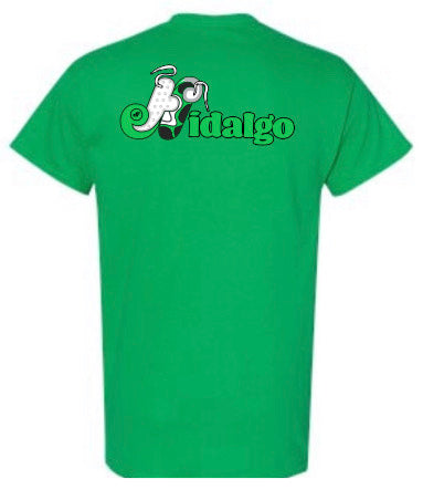 HidalgoUSA Retro 13's Electric Green Sneaker Tee